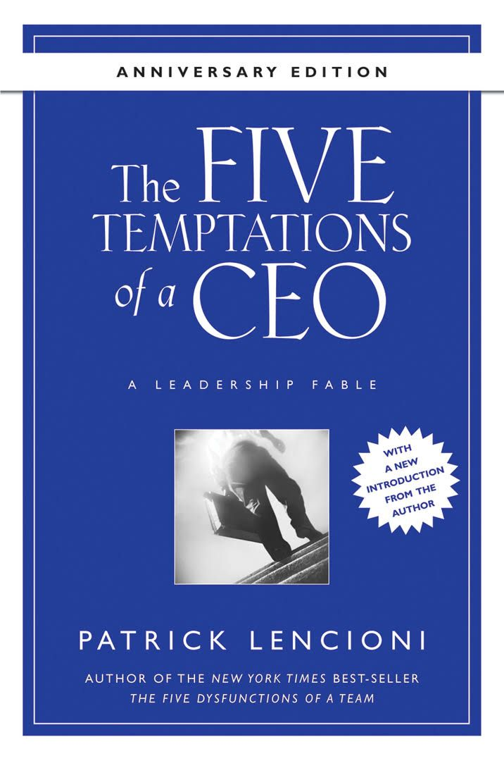 Image result for 5 temptations of a ceo