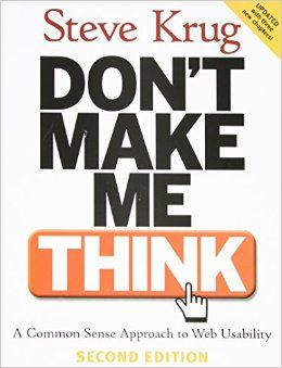 Don't Make Me Think [Book Summary]
