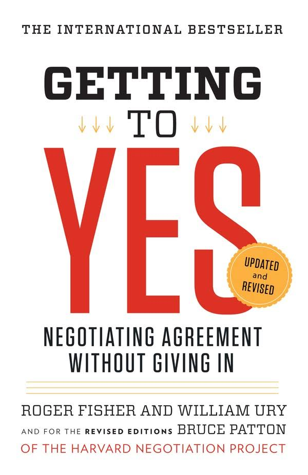 Getting to Yes [Book Summary]